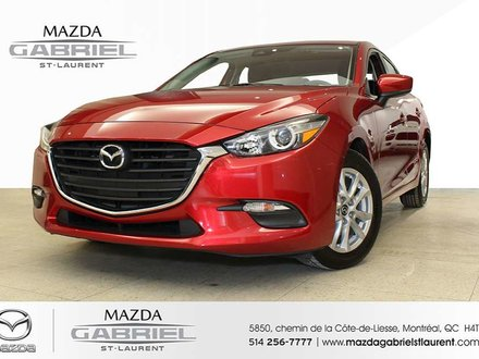 Mazda3 SPORT GS + JAMAIS ACCIDENTE + SEULEMENT 15 800KM 2018