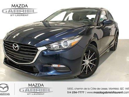 2018  Mazda3 GS + JANTES +  JAMAIS ACCIDENTE + SEULEMENT 36000KM