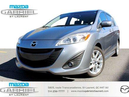 Mazda Mazda5 GT + TOIT + + JAMAIS ACCIDENTE + BLUETOOTH 2014