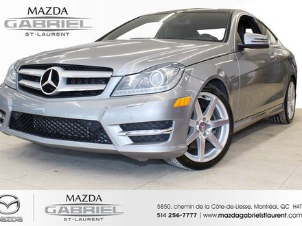 Mercedes-Benz C-Class C350 Coupe NO ACCIDENT (CARFAX AVAILABLE) + LOW MILAGE 2012