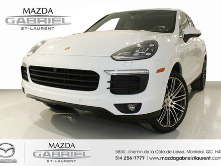 2017 Porsche Cayenne Hybrid S Pre-owned vehicle 2017 Porsche Cayenne S E-Hybrid     Covered by the Porsche Approved Certified Pre-owned Limited Warranty