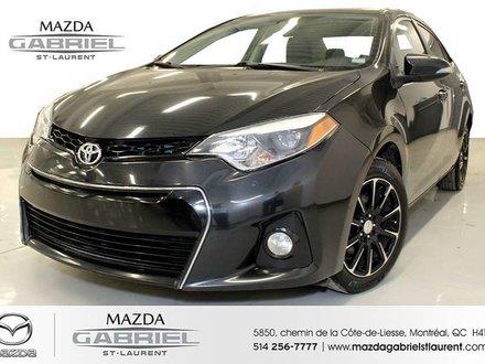 Toyota Corolla S + CUIR + BLUETOOTH + SIEGES CHAUFFANTS 2014