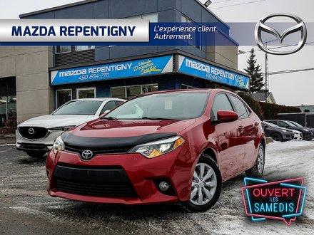 Toyota Corolla LE, Cuir, Toit, Démarreur, Pneu Hivers Inclus 2014