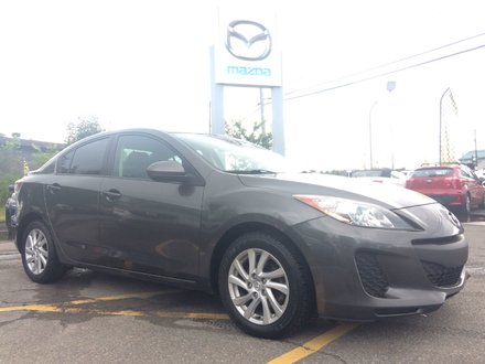 2012  Mazda3 GS-SKY MANUELLE A/C TOURING