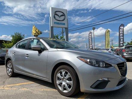 2015  Mazda3 IMPECCABLE BAS KILO MANUELLE