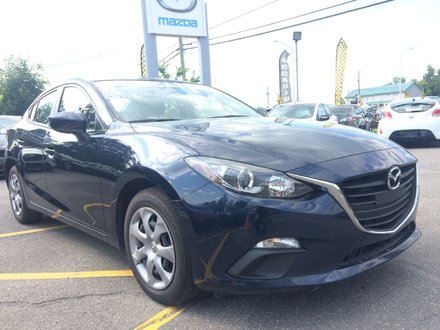 Mazda3 GX MANUELLE CARFAX DISPONIBLE 2016