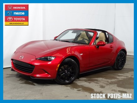 Mazda MX-5 RF GT TOIT RÉTRACTABLE GPS AUDIO BOSE CUIR 2017