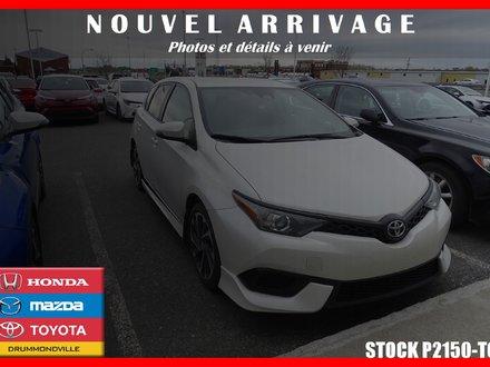 Toyota Corolla iM CAMÉRA DE RECUL* MAGS* SIÈGES CHAUFF.* 2018