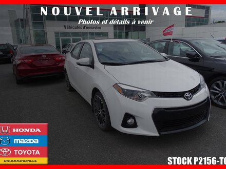 Toyota Corolla S* TOIT OUVRANT* MAGS* SIÈGES CHAUFF.* 2016