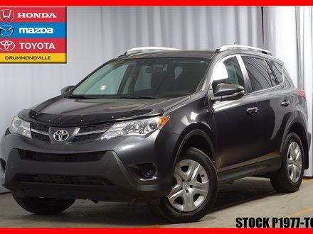 Toyota RAV4 LE *CERTIFIÉ TOYOTA!* CAMÉRA DE RECUL 2015