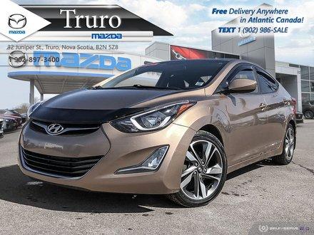 2015 Hyundai Elantra $48/WK TX IN! GLS MANUAL, LOW KM, HEATED SEATS