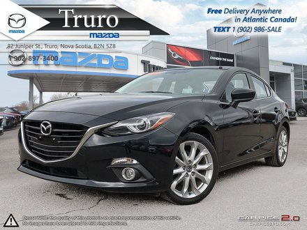 2016 Mazda Mazda3 GT $79/WK TX IN! LEATHER! ROOF! NEW TIRES/BRAKES!