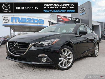 2016 Mazda Mazda3 $77/WK TX IN! GT, BOSE LEATHER