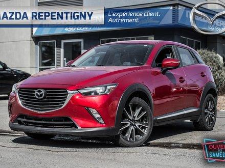 2016 Mazda CX-3 GT AWD, BOSE, GPS, + Pneu Hivers & Été