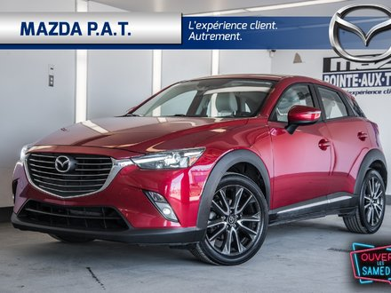 2016 Mazda CX-3 GT AWD ** CUIR NAVIGATION TOIT OUVRANT **