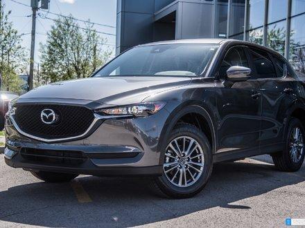Mazda CX-5 GS  FWD ANGLE MORT, CAM. RECUL, MAGS 17'' 2017