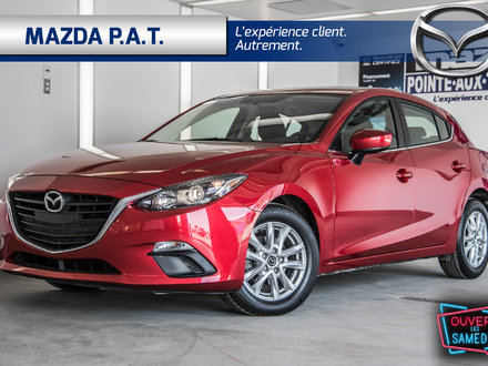 2016  Mazda3 Sport GS+SEULEMENT 28000 KM