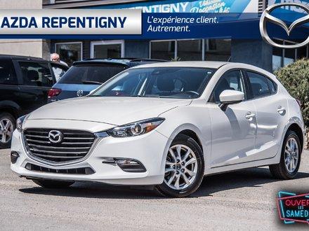 Mazda3 Sport GS*LIQUID. DEMO*BANC CHAUF, CAM.RECUL, ANGLE MORT 2018