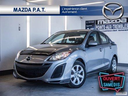 2010 Mazda Mazda3 GX ** AIR CLIMATISÉ 80 180 KM **