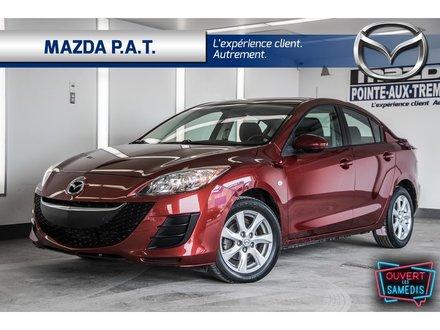 2010 Mazda Mazda3 GS ** SEULEMENT 52 220 KM **