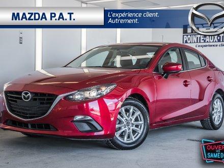 2016 Mazda Mazda3 GS ** WOW NAVIGATION + SIEGE CHAUFFANT