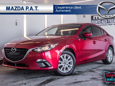 Mazda Mazda3 GS CERTIFICATION INCLUS +NAVIGATION 2016
