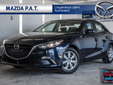 2016  Mazda3 G JAMAIS ACCIDENTÉ