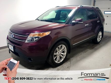 2011 Ford Explorer Limited V6 Htd Lthr Navi Btooth AC Seats