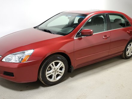 2007 Honda Accord SE Low Kms Sunroof Traction Clean Pwr Seat