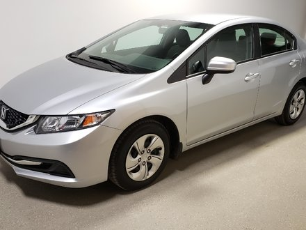 2015 Honda Civic LX Certified Htd Seats Camera Local Traction 56mpg