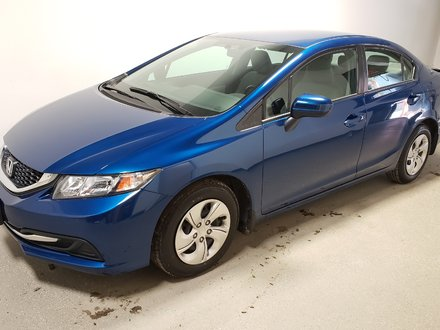 2015 Honda Civic LX Certified Htd Seats Camera Htd Seats Low Kms