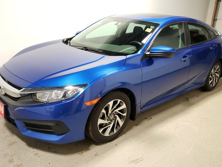 2016 Honda Civic EX Rmt Start Certified Sensing Sunroof Camera