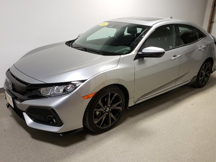 2018 Honda Civic Sport w/Honda Sensing Rmt Start Certified Loaded