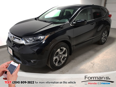 2017 Honda CR-V EX-L Rmt Start Htd Lthr Certified Htd Wheel