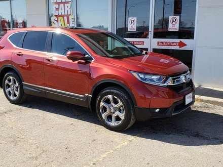 2017 Honda CR-V EX-L Certified - Just arrived