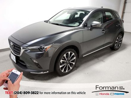 2019 Mazda CX-3 GT Tech Navi Htd Lthr Memory Seats Camera Loaded