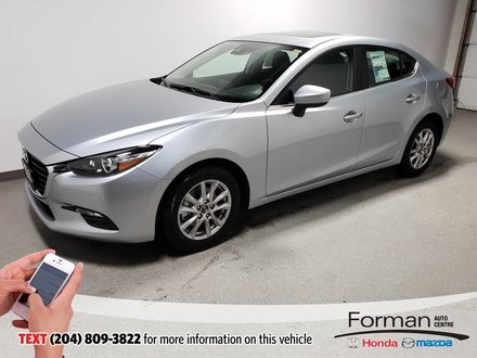 2018 Mazda Mazda3 GS Save Htd Seats Camera HTD Steering Sunroof