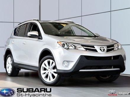 2013 Toyota RAV4 Limited, cuir, toit, AWD, freins et pneus neufs