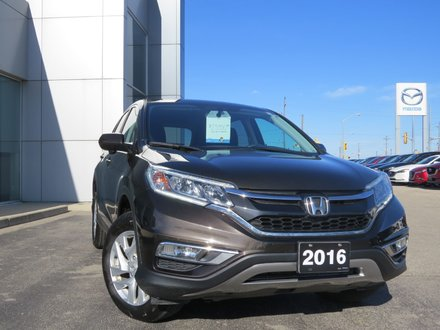 2016 Honda CR-V EX|AWD|MOONROOF|HITCH|BACK UP CAMERA|HEATED SEATS