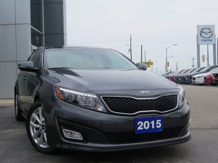 2015 Kia Optima EX|LOW KM|PANORAMIC ROOF|LEATHER|REMOTE START