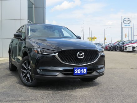 2018 Mazda CX-5 GT|AWD|UNLIMITED KM WARRANTY