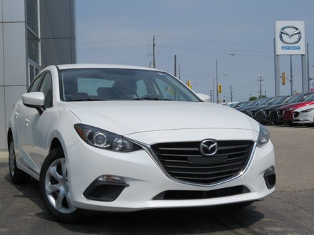 2015  Mazda3 GX|LOW PRICE|MANUAL|POWER WINDOWS