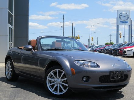 2006 Mazda MX-5 MIATA GT|SOFT TOP|BOSE AUDIO|LOW KM