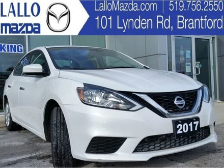 2017 Nissan Sentra S|MANUAL TRANSMISSION