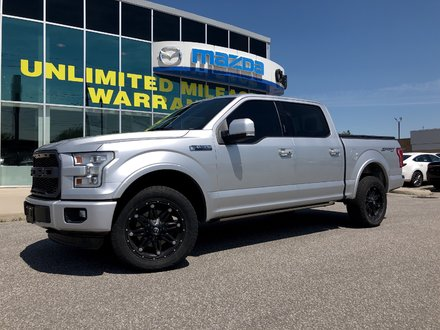 2016 Ford F150 4x4 - Supercrew Lariat - 145