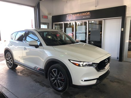 2018 Mazda CX-5 AWD GT GT AWD+CUIR+TOIT OUVRANT+GPS+MAGS 19PO