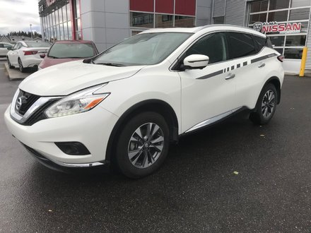 2017 Nissan Murano SL  CUIR + GPS + TOIT PANORAMIQUE
