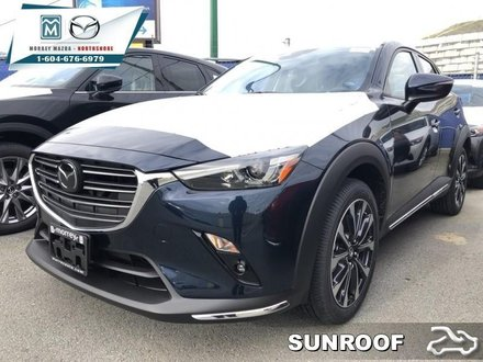 2019 Mazda CX-3 GT  - Head-Up Display -  Sunroof