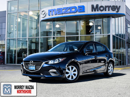 2015 Mazda Mazda3 Sport GX Hatchback with Excellent fuel economy!