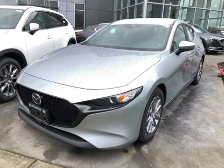 2019 Mazda Mazda3 Sport GS Hatchback! Quiet, economical, Spirited. Click